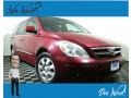 Cranberry Red 2008 Hyundai Entourage Limited