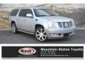 Silver Lining Metallic 2011 Cadillac Escalade ESV Luxury AWD