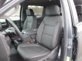 Jet Black Front Seat Photo for 2019 Chevrolet Silverado 1500 #131505481