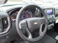 Jet Black Steering Wheel Photo for 2019 Chevrolet Silverado 1500 #131505496