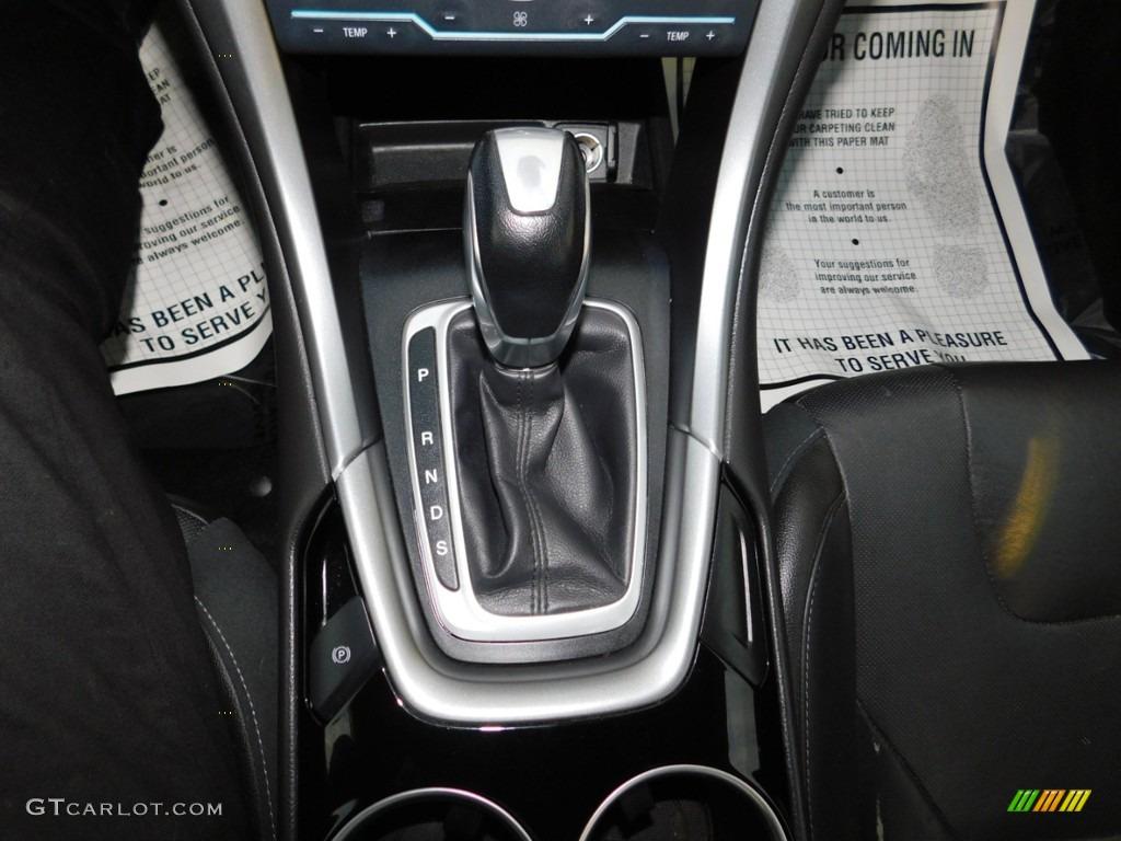 2013 Fusion Titanium AWD - Tuxedo Black Metallic / Charcoal Black photo #18
