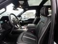 Front Seat of 2019 F150 Platinum SuperCrew 4x4