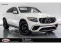 Polar White 2019 Mercedes-Benz GLC AMG 63 4Matic Coupe