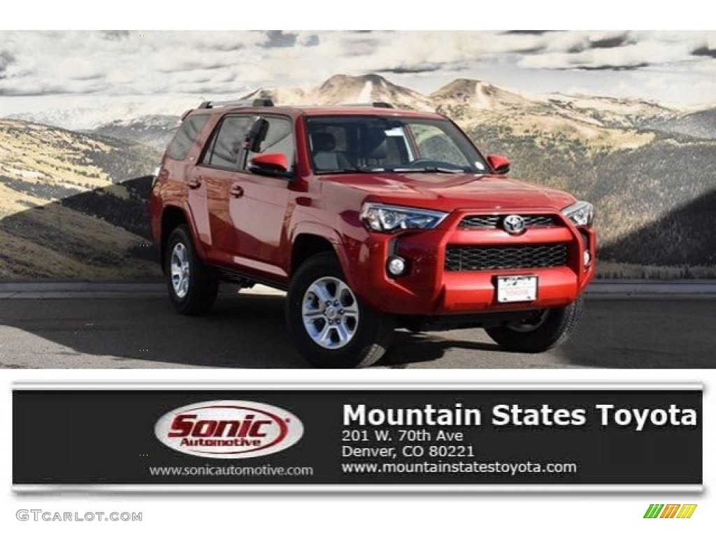 2019 Barcelona Red Metallic Toyota 4runner Sr5 Premium 4x4 131543994 Gtcarlot Com Car Color Galleries