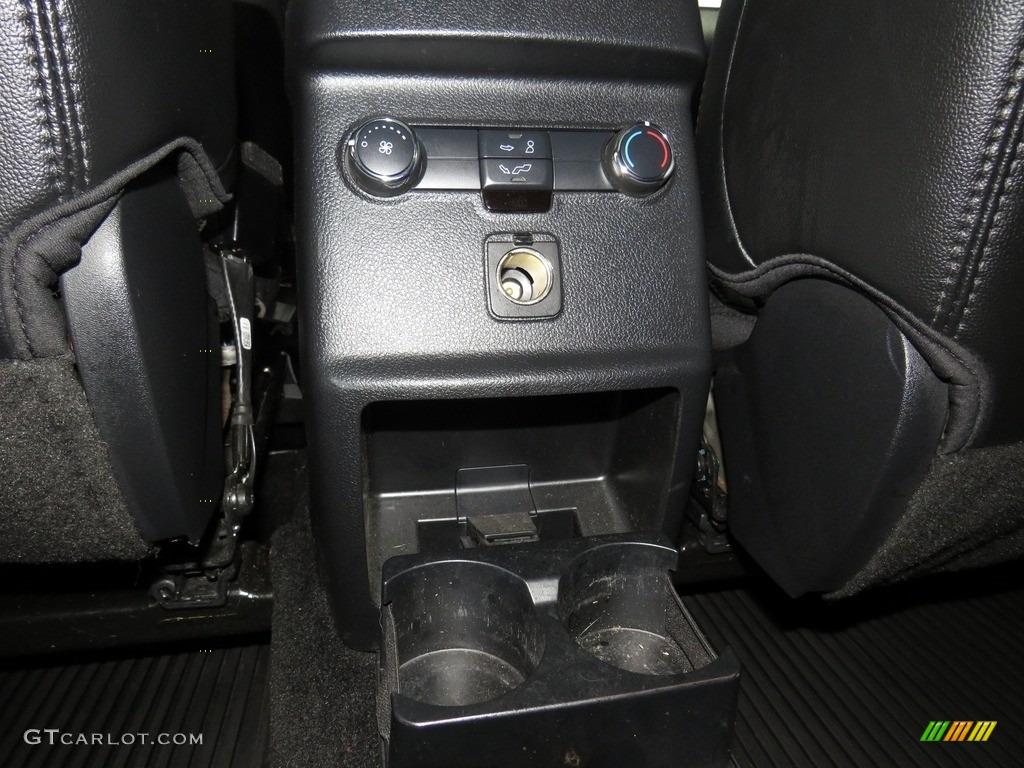 2016 Explorer XLT 4WD - Ingot Silver Metallic / Ebony Black photo #38