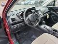 Ivory Interior Photo for 2019 Subaru Impreza #131585830