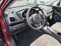 Ivory Interior Photo for 2019 Subaru Impreza #131586250