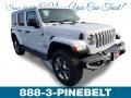 Bright White 2019 Jeep Wrangler Unlimited Sahara 4x4