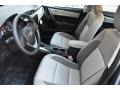 Front Seat of 2019 Corolla LE