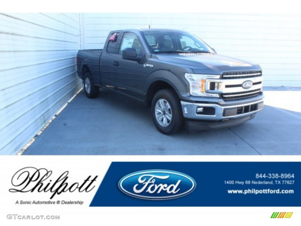 2019 F150 XLT SuperCab - Magnetic / Earth Gray photo #1