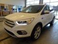 2019 White Platinum Ford Escape Titanium  photo #4