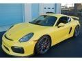 Racing Yellow 2016 Porsche Cayman GT4