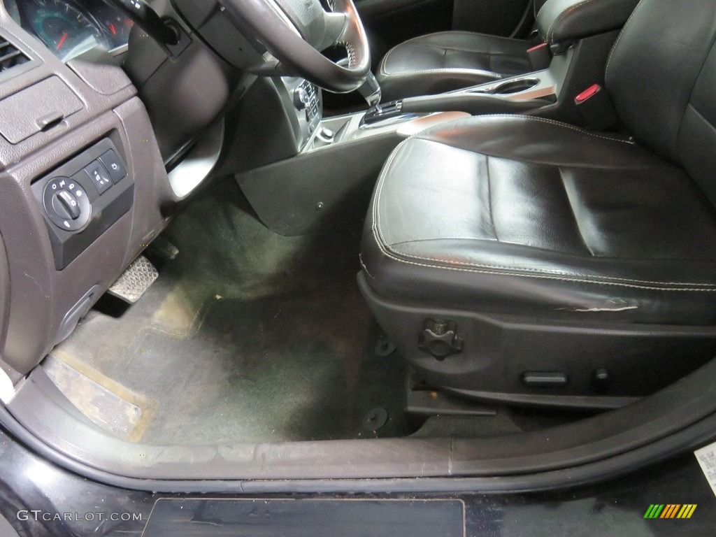 2010 Fusion SEL V6 - Tuxedo Black Metallic / Charcoal Black photo #32