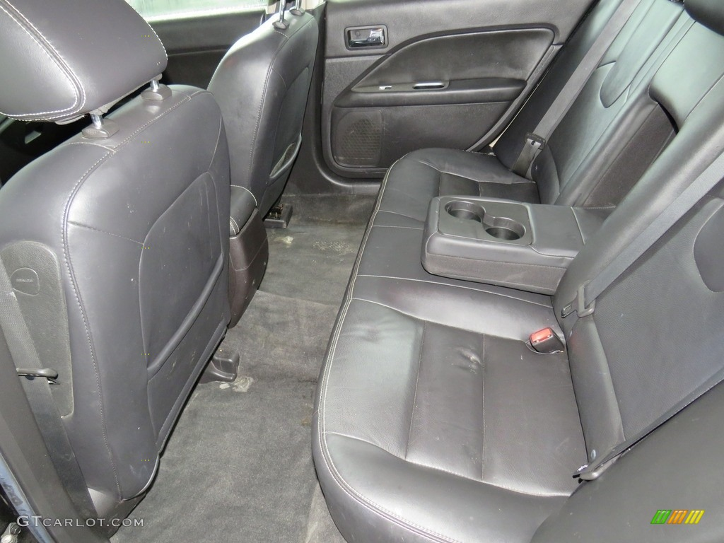 2010 Fusion SEL V6 - Tuxedo Black Metallic / Charcoal Black photo #36