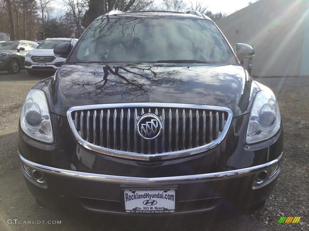 2010 Enclave CXL AWD - Carbon Black Metallic / Ebony/Ebony photo #2