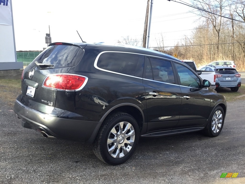 2010 Enclave CXL AWD - Carbon Black Metallic / Ebony/Ebony photo #4