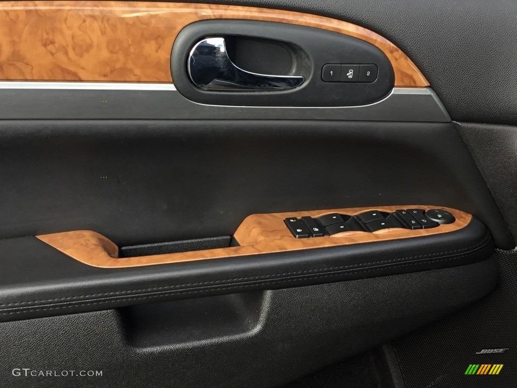2010 Enclave CXL AWD - Carbon Black Metallic / Ebony/Ebony photo #9