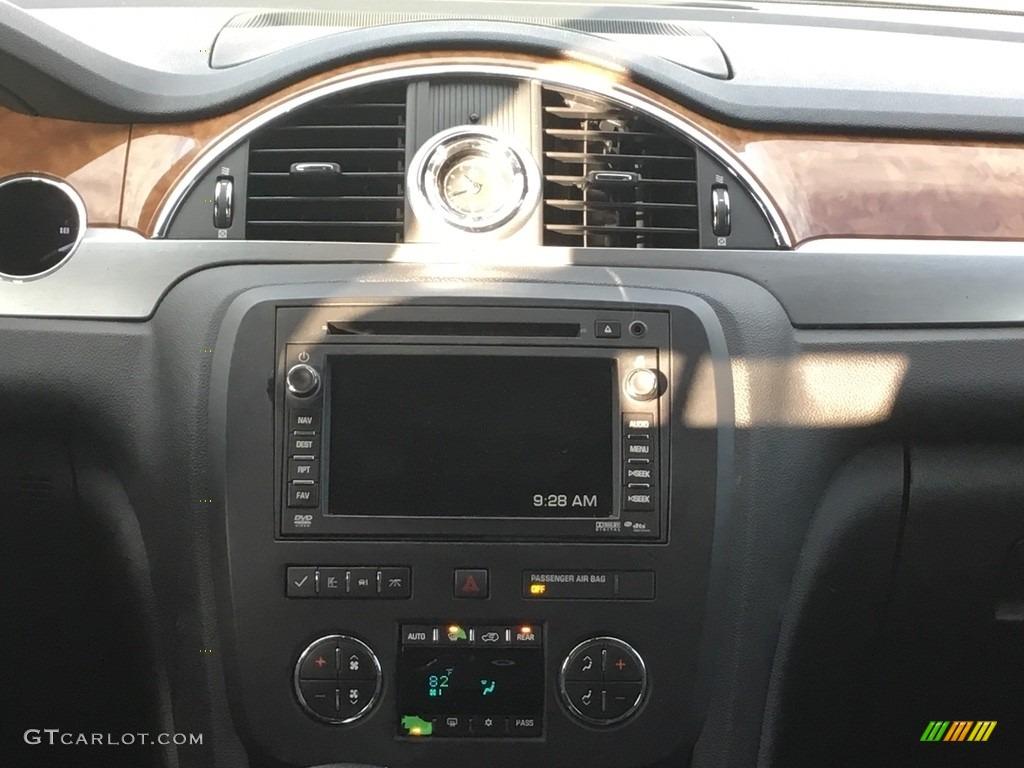 2010 Enclave CXL AWD - Carbon Black Metallic / Ebony/Ebony photo #13