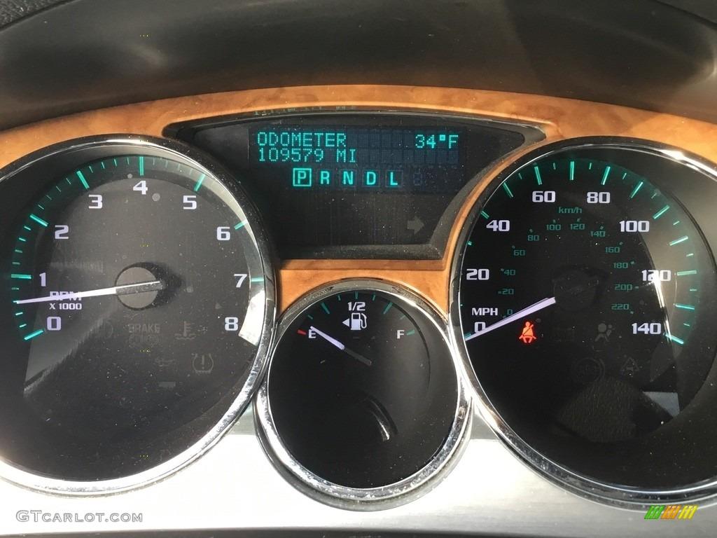 2010 Enclave CXL AWD - Carbon Black Metallic / Ebony/Ebony photo #18