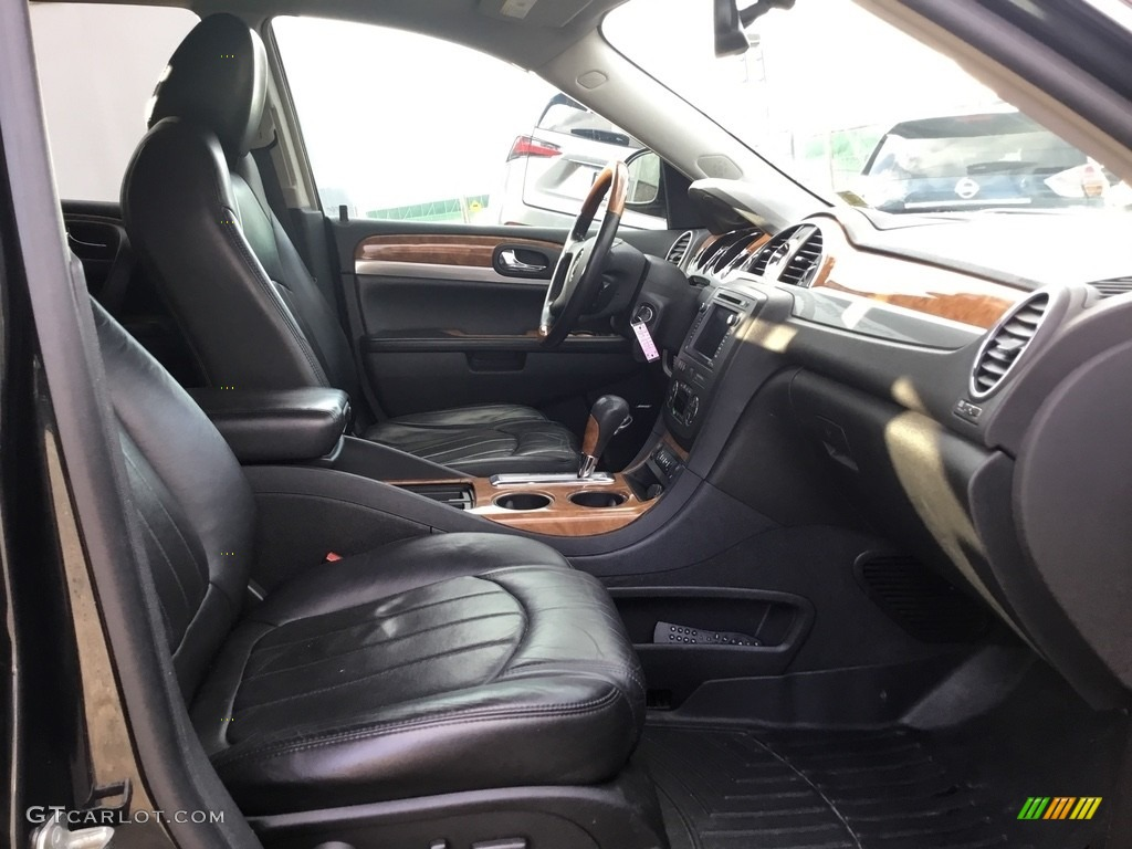2010 Enclave CXL AWD - Carbon Black Metallic / Ebony/Ebony photo #26