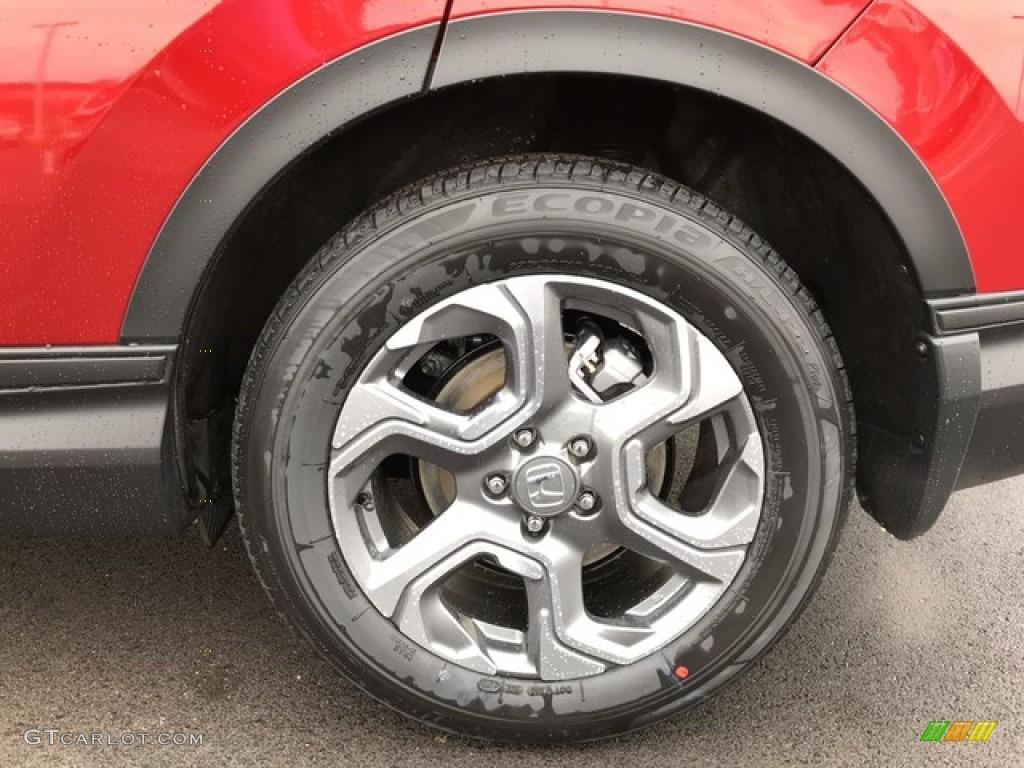 2019 CR-V EX AWD - Molten Lava Pearl / Ivory photo #11