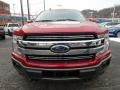 2019 Ruby Red Ford F150 Lariat SuperCrew 4x4  photo #7