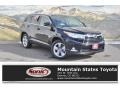 Midnight Black Metallic 2016 Toyota Highlander Limited Platinum AWD
