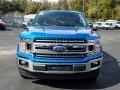 2019 Velocity Blue Ford F150 XLT SuperCrew  photo #8