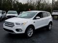 2019 Oxford White Ford Escape SE  photo #1