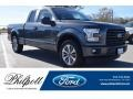 Lithium Gray 2017 Ford F150 XL SuperCab