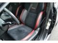 Carbon Black Front Seat Photo for 2018 Subaru WRX #131725314