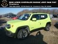 2018 Hypergreen Jeep Renegade Latitude 4x4 #131732182