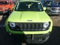 2018 Hypergreen Jeep Renegade Latitude 4x4  photo #8