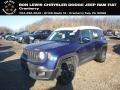 Jetset Blue 2018 Jeep Renegade Latitude 4x4
