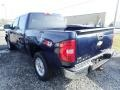 2009 Imperial Blue Metallic Chevrolet Silverado 1500 LT Crew Cab 4x4  photo #2