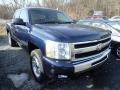 2009 Imperial Blue Metallic Chevrolet Silverado 1500 LT Crew Cab 4x4  photo #5