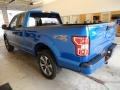 2019 Velocity Blue Ford F150 STX SuperCab 4x4  photo #3