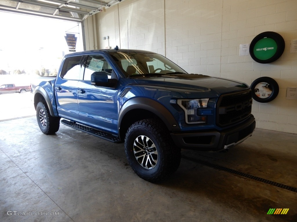 Performance Blue Ford F150