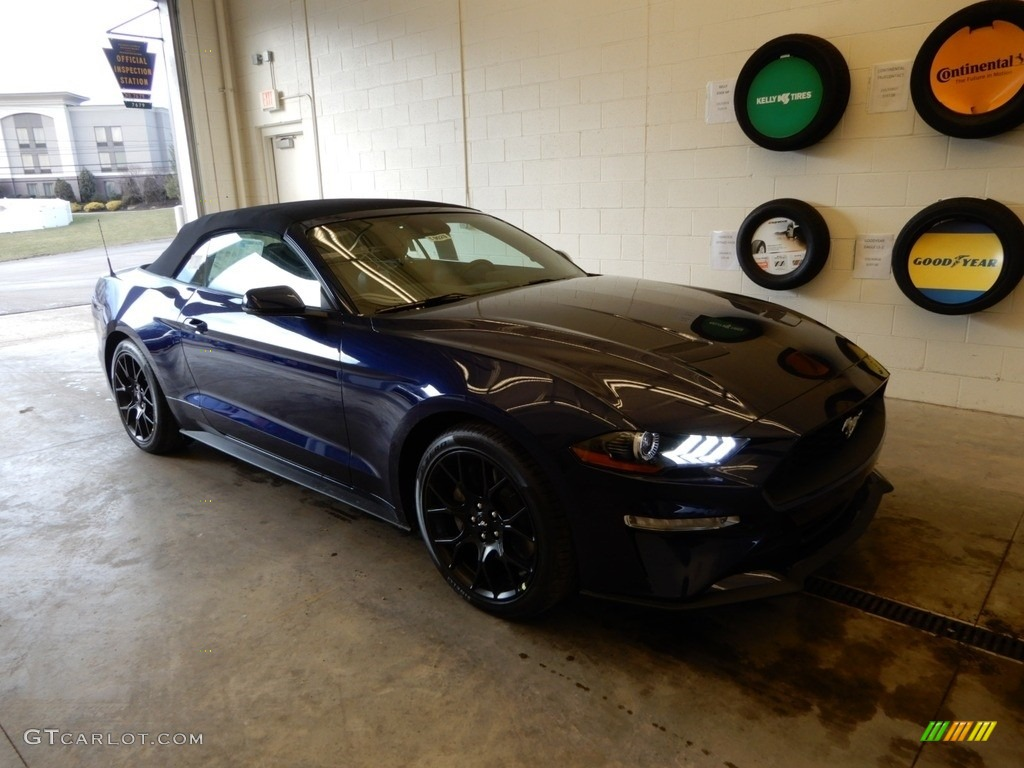 Kona Blue Ford Mustang