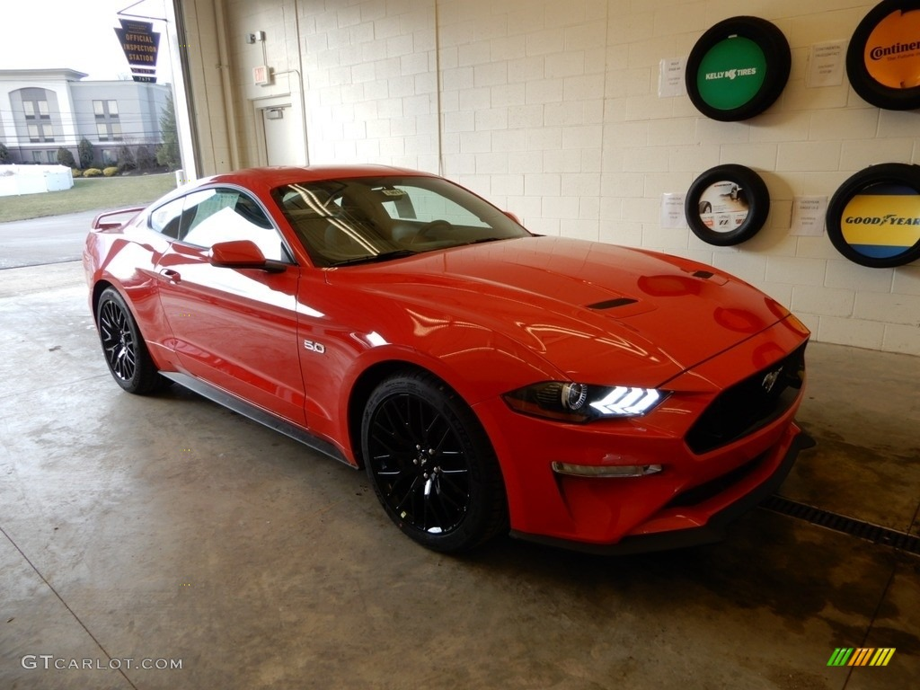 2019 Mustang GT Fastback - Race Red / Ebony photo #1