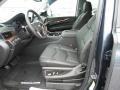 2019 Cadillac Escalade Jet Black Interior Front Seat Photo