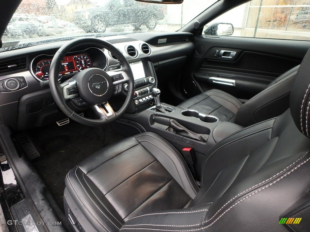 2018 Mustang EcoBoost Premium Convertible - Shadow Black / Ebony photo #13