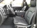 Front Seat of 2019 1500 Laramie Quad Cab 4x4