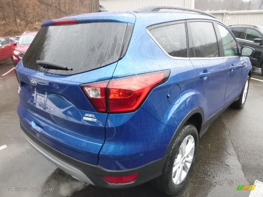 2019 Escape SEL 4WD - Lightning Blue / Chromite Gray/Charcoal Black photo #2