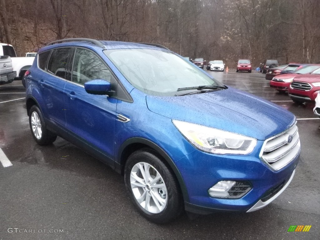 2019 Escape SEL 4WD - Lightning Blue / Chromite Gray/Charcoal Black photo #3