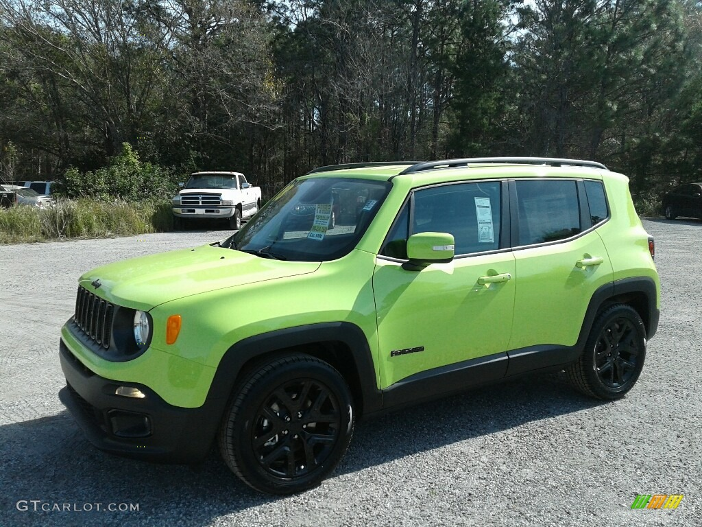 Hypergreen Jeep Renegade