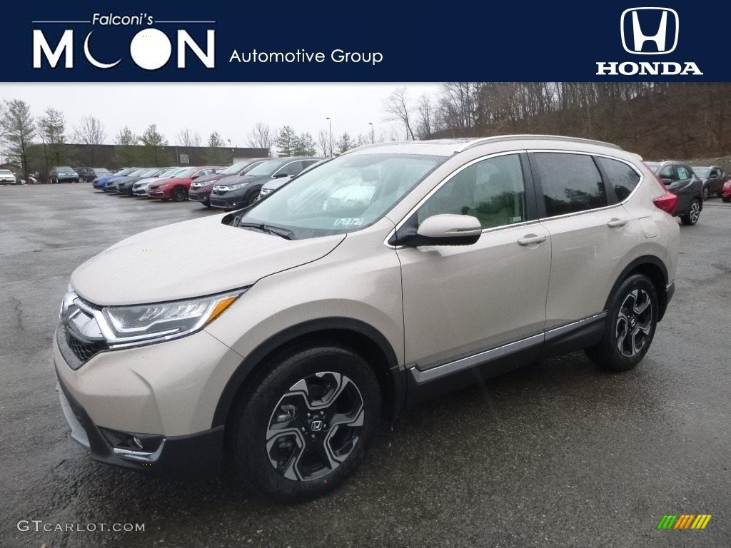 2019 CR-V Touring AWD - Sandstorm Metallic / Ivory photo #1