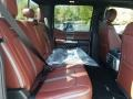 2019 Ford F250 Super Duty Dark Marsala Interior Rear Seat Photo