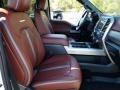 2019 Ford F250 Super Duty Dark Marsala Interior Front Seat Photo