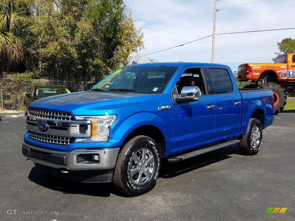 Velocity Blue Ford F150